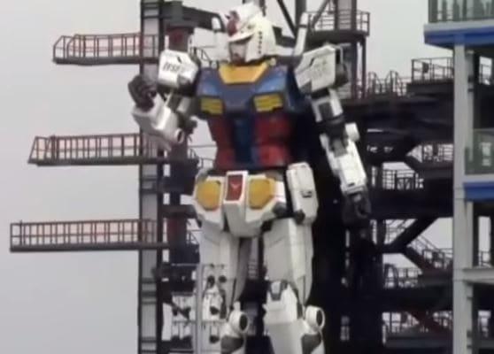 Los fans del manga verán a escala real uno de sus robots legendarios